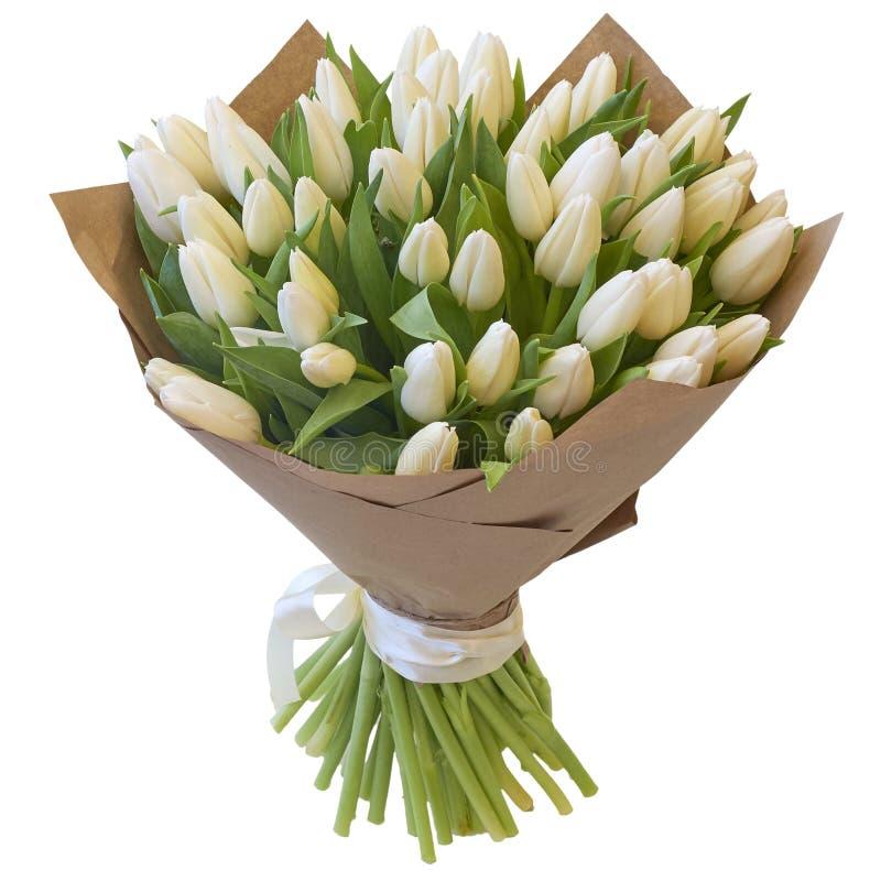 Bouquet de fête des fleurs dans un beau paquet images libres de droits