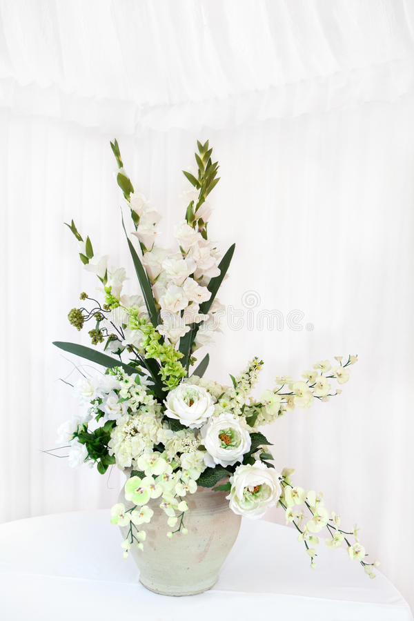Bouquet de fleur blanche photos stock
