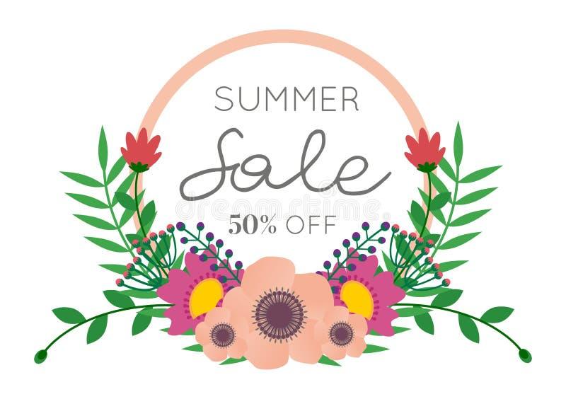 Bouquet de fleur de vente d'été images stock