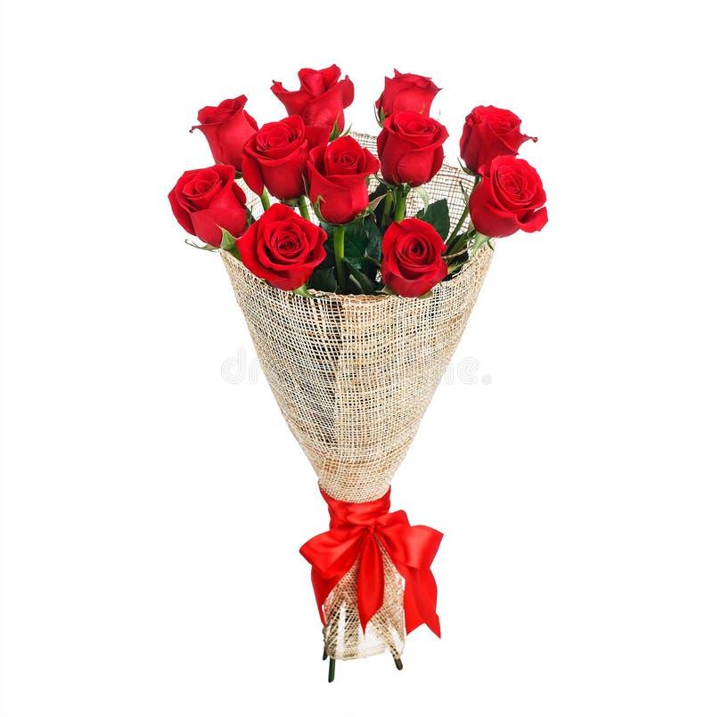Bouquet de fleur des roses rouges photographie stock