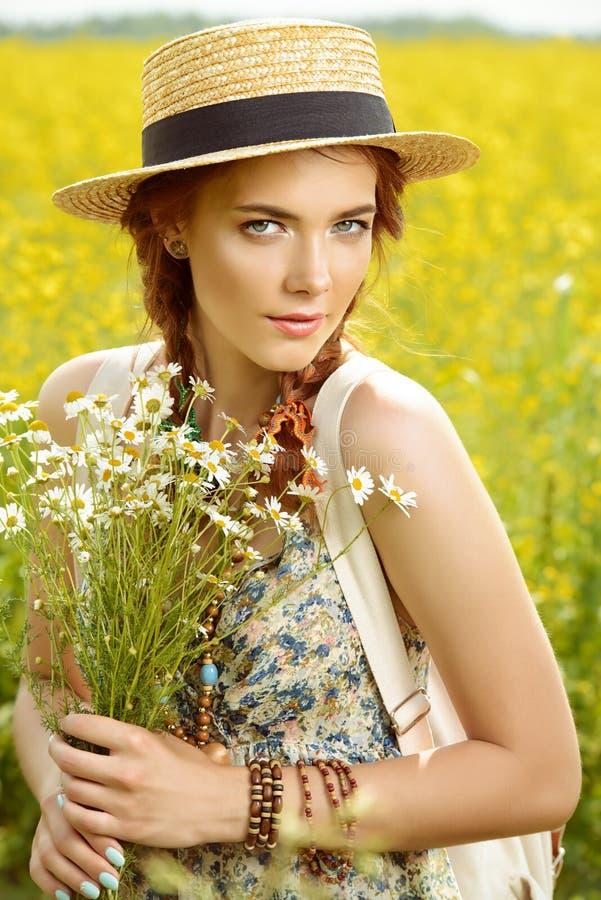 Bouquet de fleurs sauvages images libres de droits