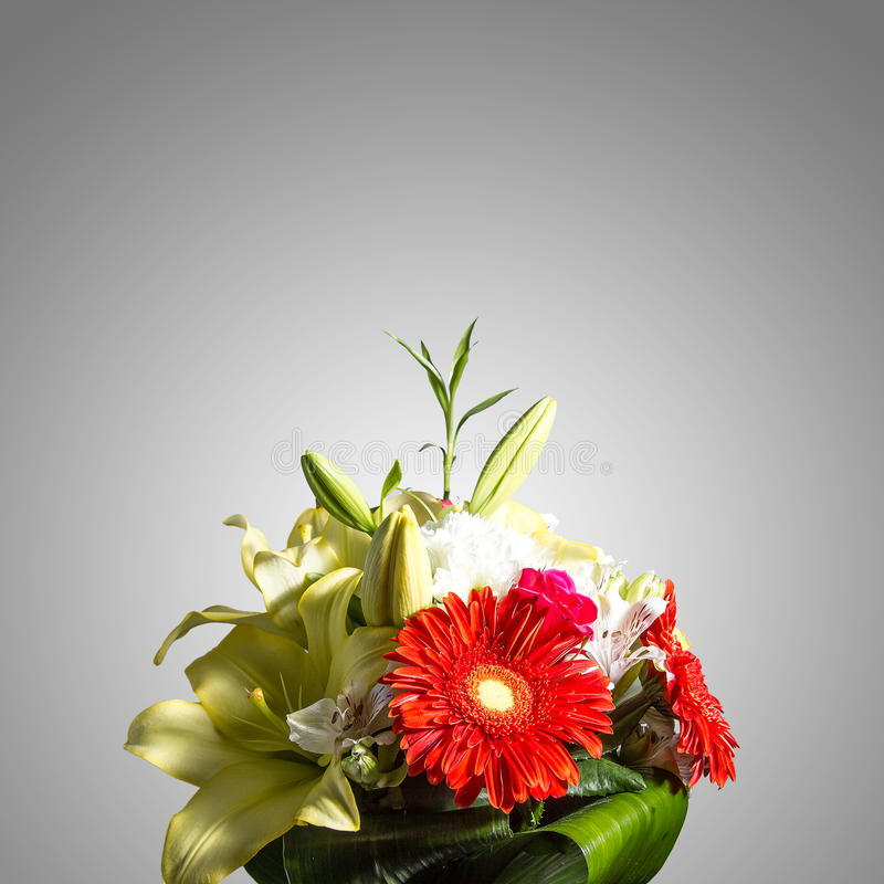 Bouquet de fond de fleurs image libre de droits