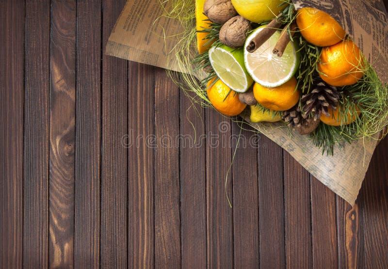 Bouquet de fruit image libre de droits