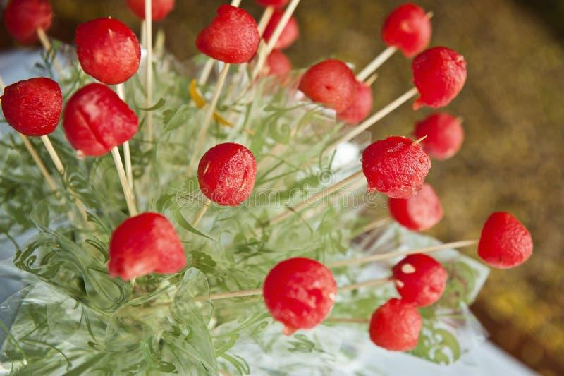 Bouquet de fruit, past?que image stock