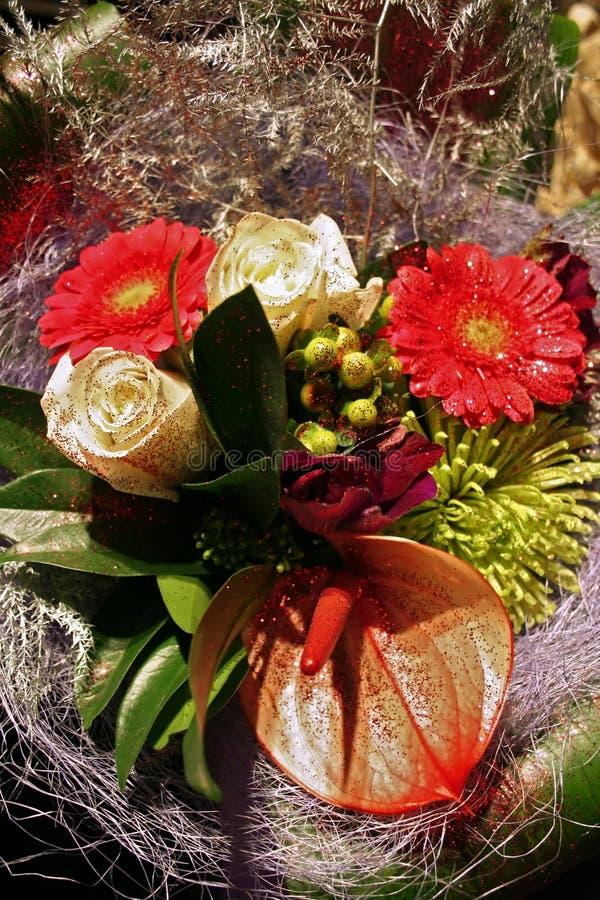 Bouquet de l'hiver photographie stock