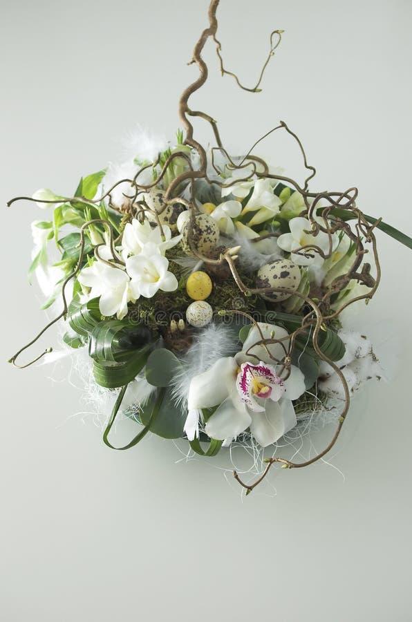 Bouquet De Pâques Photo libre de droits