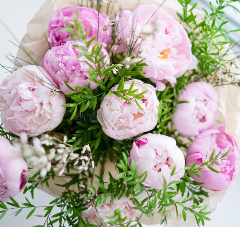 Bouquet de pivoines photos libres de droits