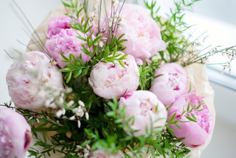 Bouquet de pivoines photos stock