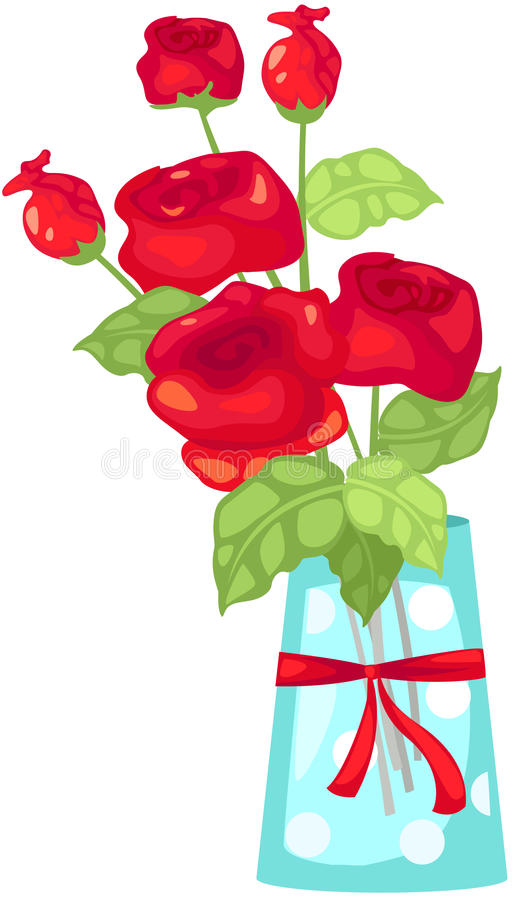 Bouquet de Rose illustration stock