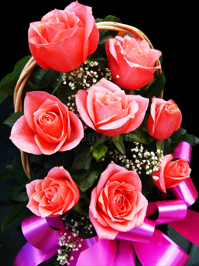 Bouquet de roses image stock