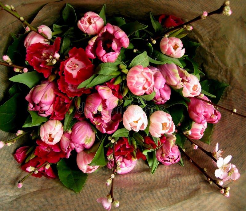 Bouquet de source images stock