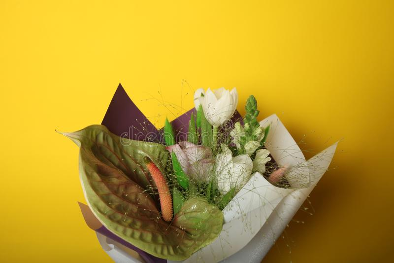 Bouquet de tulipe de beauté, le jour de mère photo stock