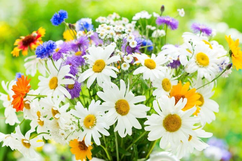 Bouquet des fleurs d'été photo libre de droits