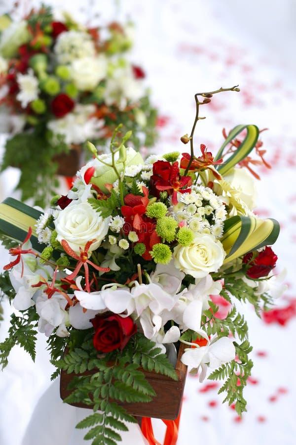 Bouquet des fleurs de mariage image stock