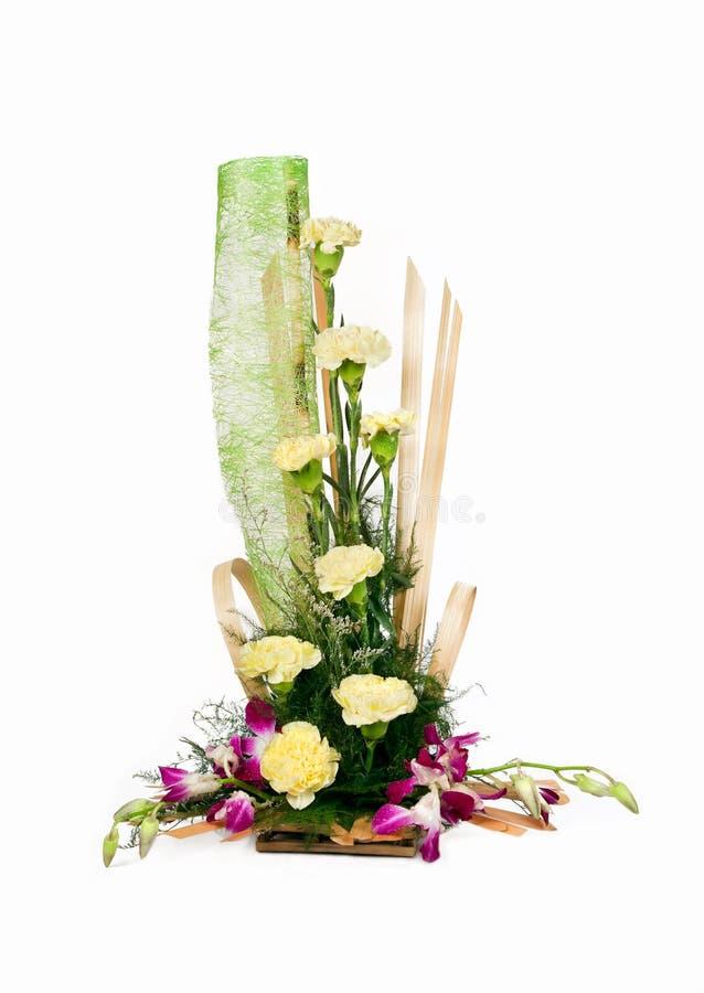 Bouquet des fleurs roses de blanc photo libre de droits