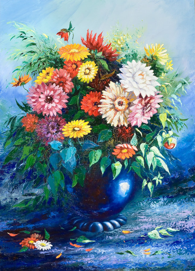 Bouquet des fleurs sauvages illustration stock