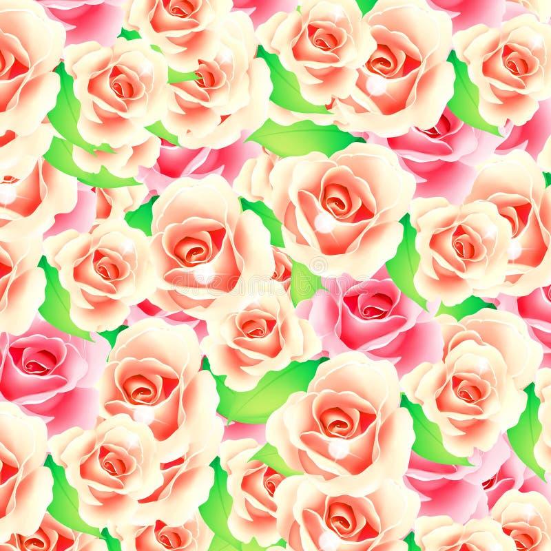 Bouquet des roses illustration libre de droits
