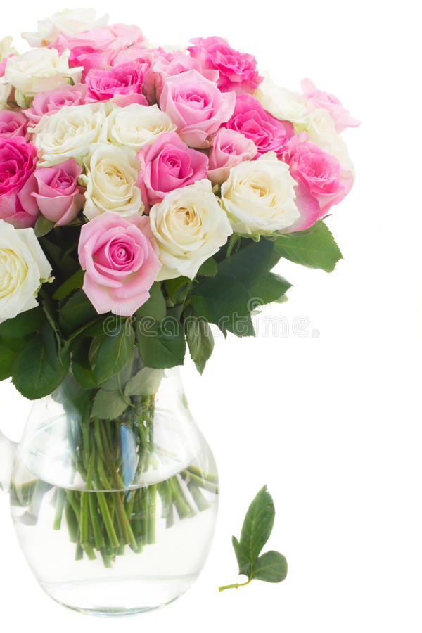 Bouquet des roses fraîches photographie stock