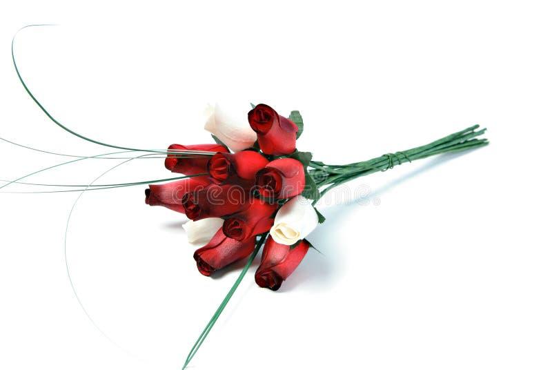 Bouquet en bois de Rose images libres de droits