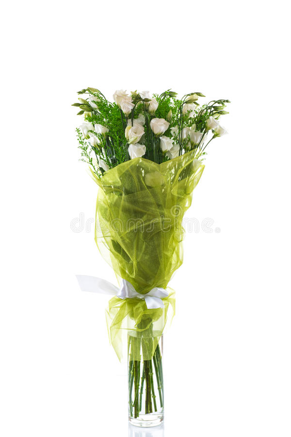Download Bouquet of eustoma flowers stock photo. Image of mother - 33287280