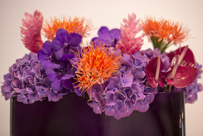Download Bouquet With Exotic Flowers Stock Image - Image: 33976013