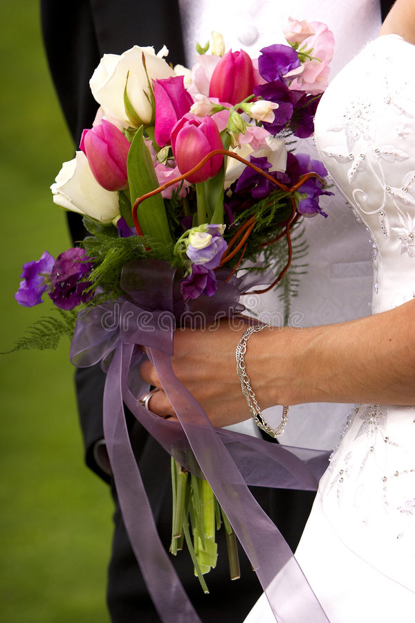 Download Bouquet of flowers stock image. Image of rose, bride, ring - 179129