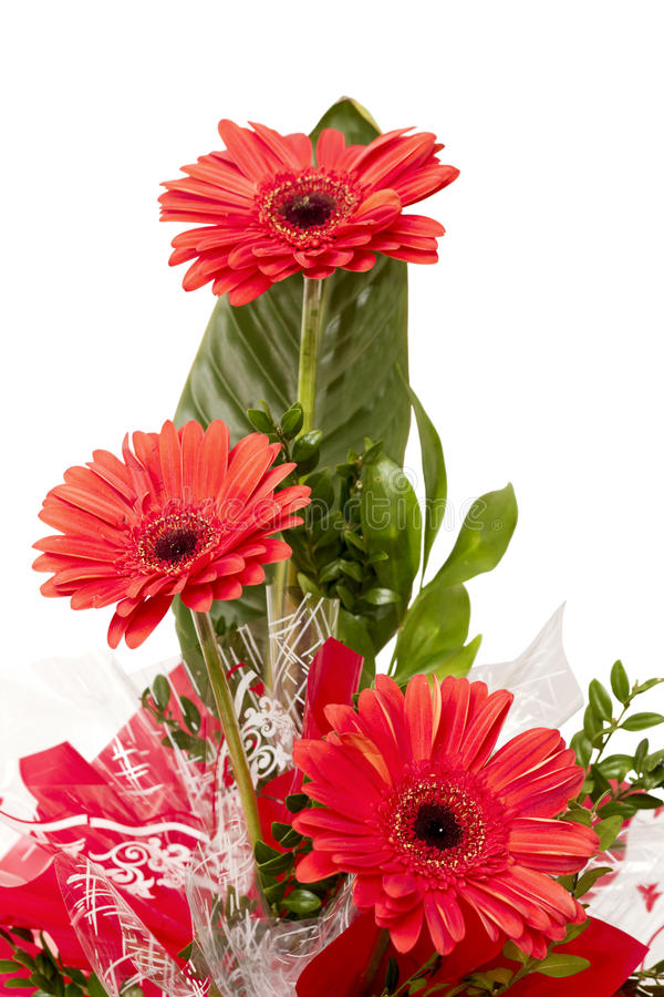 A bouquet of flowers stock image