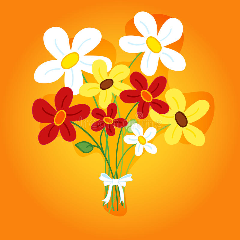 Download Bouquet of flowers stock vector. Image of happy, celebrate - 24612081