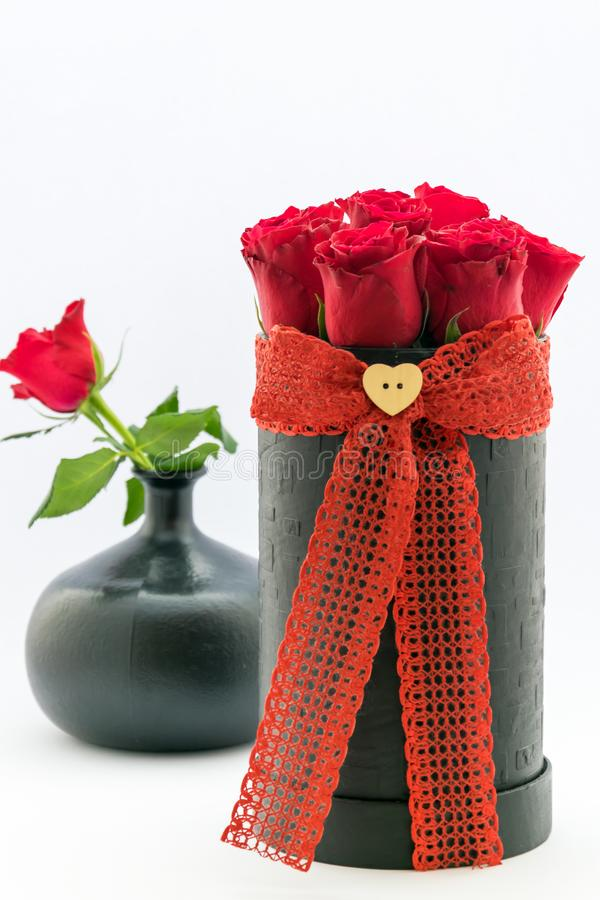 A Bouquet Of Flowers For An Anniversary Gift, Valentine`s Day, Women ...