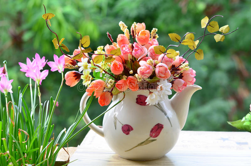 Bouquet of flowers stock image. Image of botany, flora - 43838721