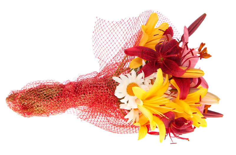 Bouquet flowers,isolated. stock photos