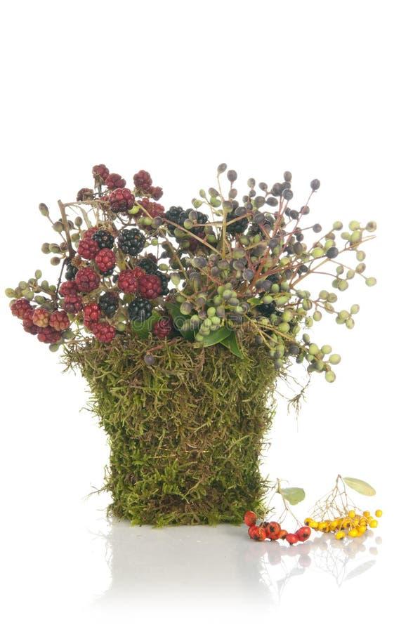 Bouquet initial de fleur de conception image stock