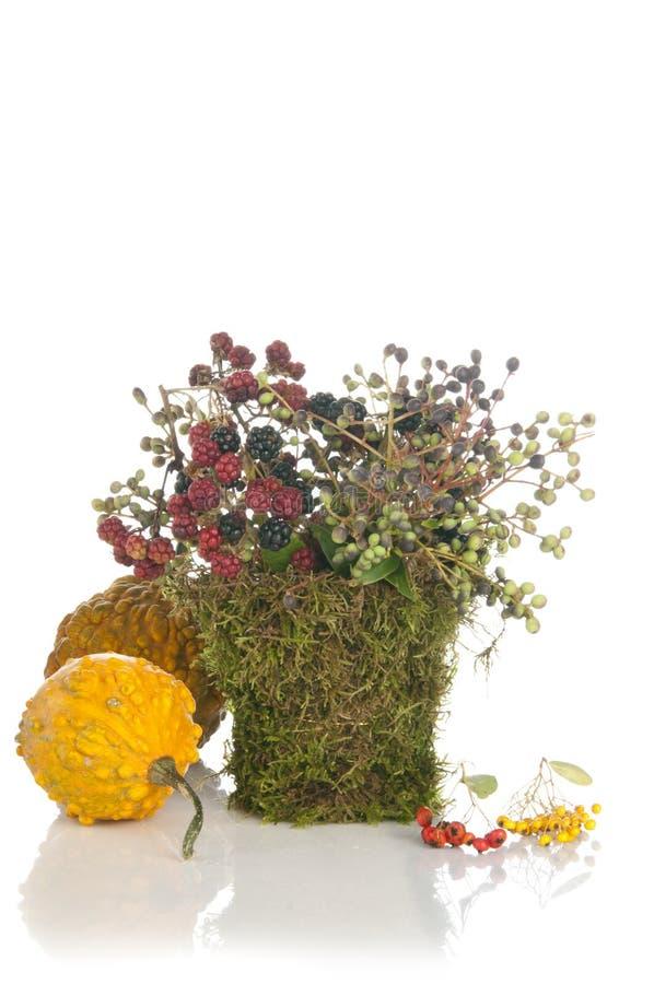 Bouquet initial de fleur de conception photo stock