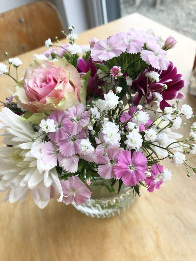Bouquet lilla fotografie stock libere da diritti