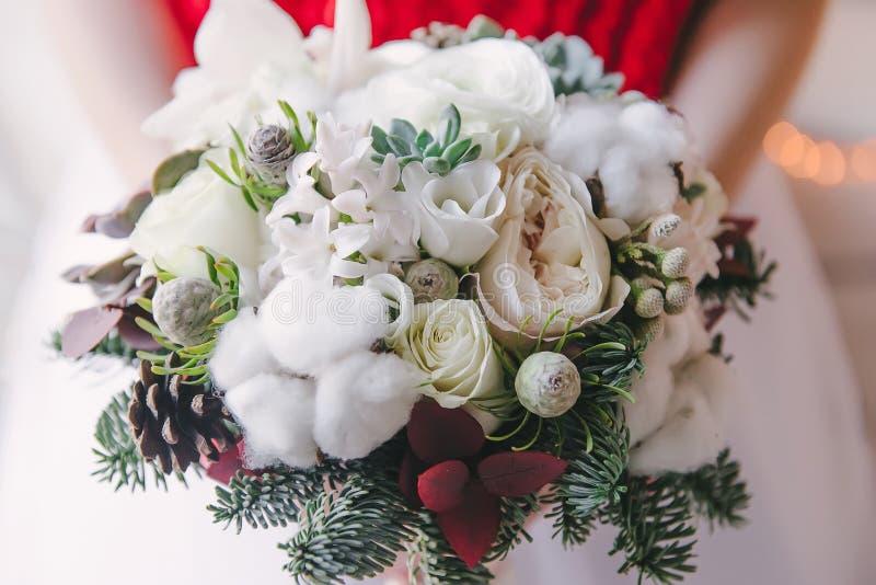 Bouquet nuptiale de Noël photos stock