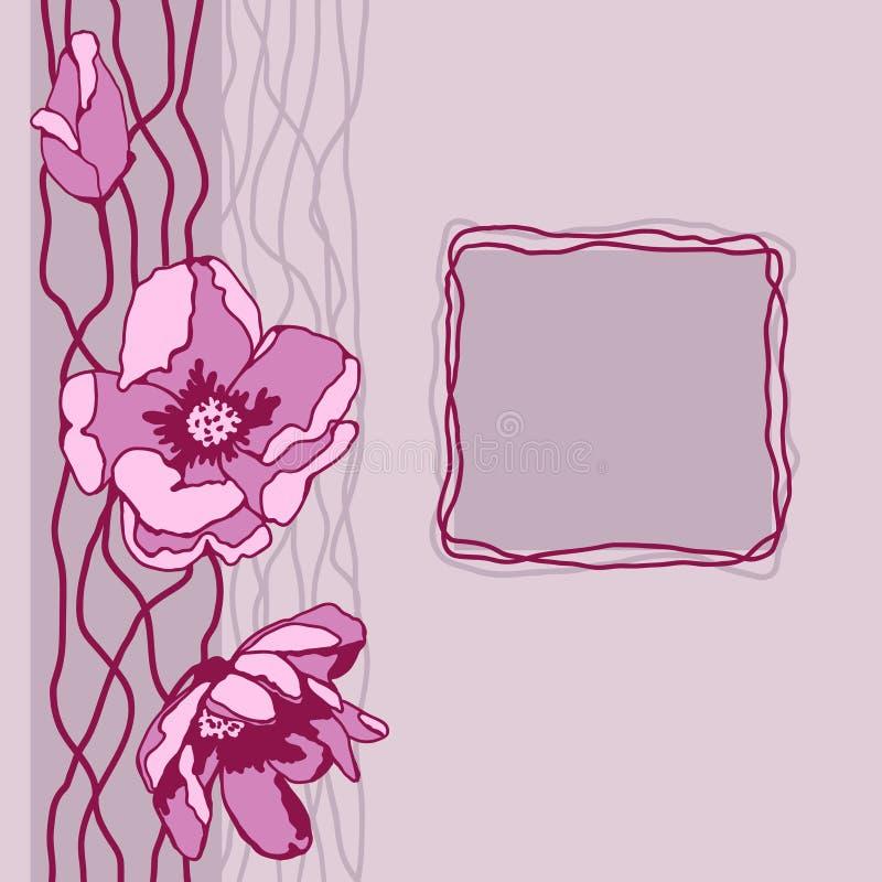 Bouquet of peonies vector illustration