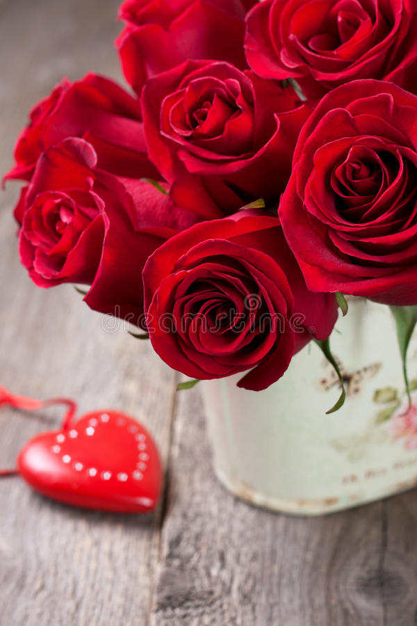 Download Bouquet of red roses stock image. Image of anniversary - 83702495
