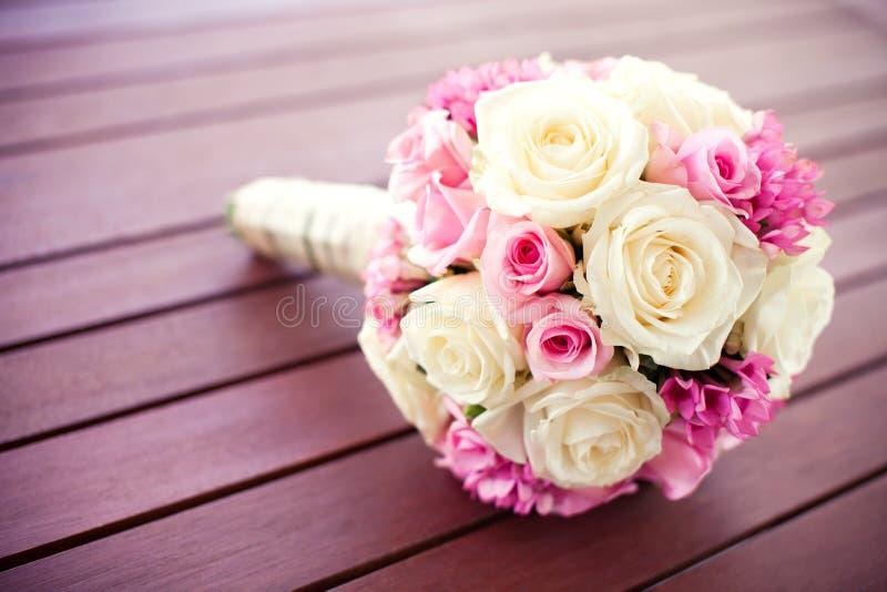 Bouquet rose nuptiale photo libre de droits