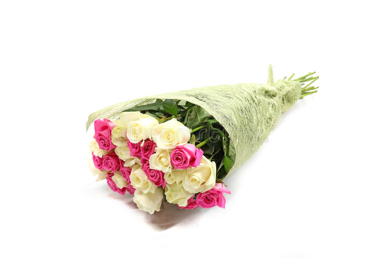 Bouquet of roses. royalty free stock photography