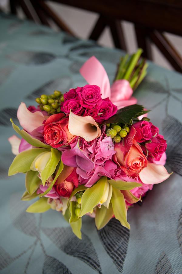Download Bouquet of roses stock photo. Image of pretty, colourful - 25157222