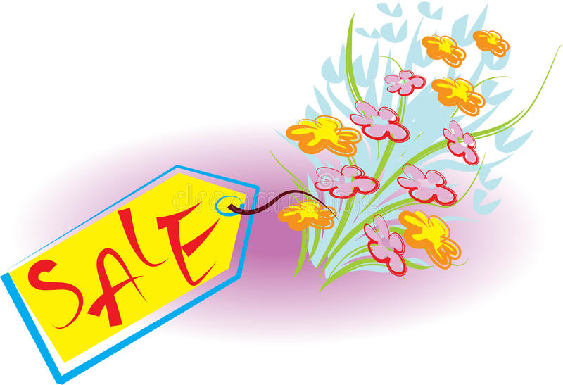 Download Bouquet for sale stock vector. Image of gift, blooms - 13445903