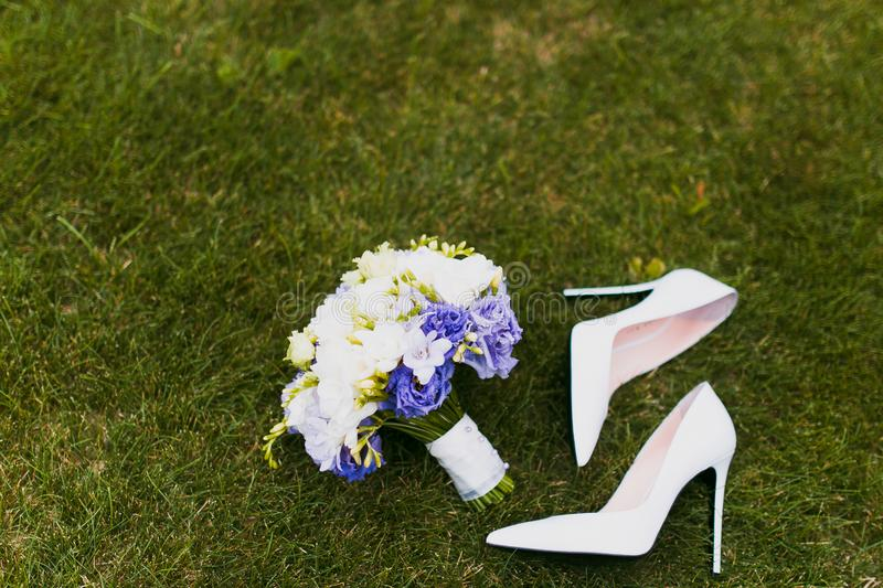 Download Wedding details stock image. Image of couple, bouquet - 89212977