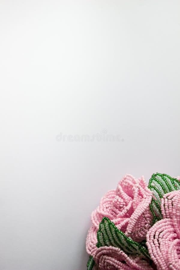 Bouquet spianato in basso fotografia stock