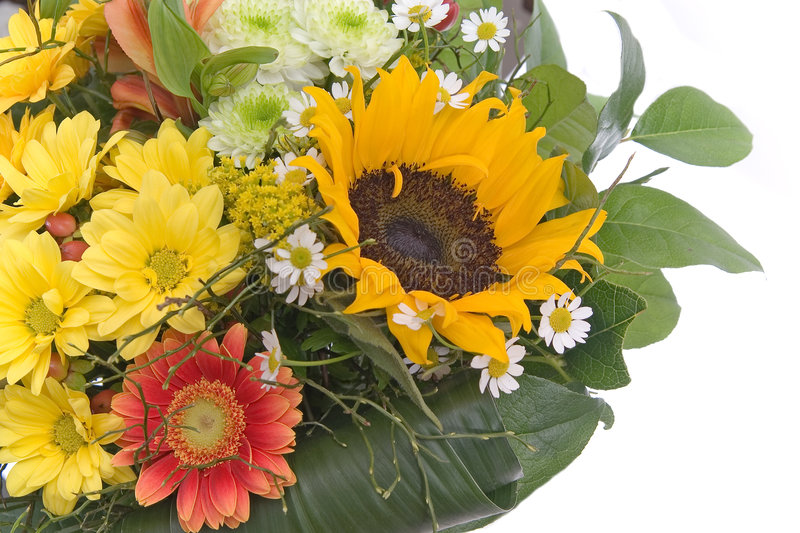 Download Bouquet with sunflower stock image. Image of nature, gorgeous - 2088803