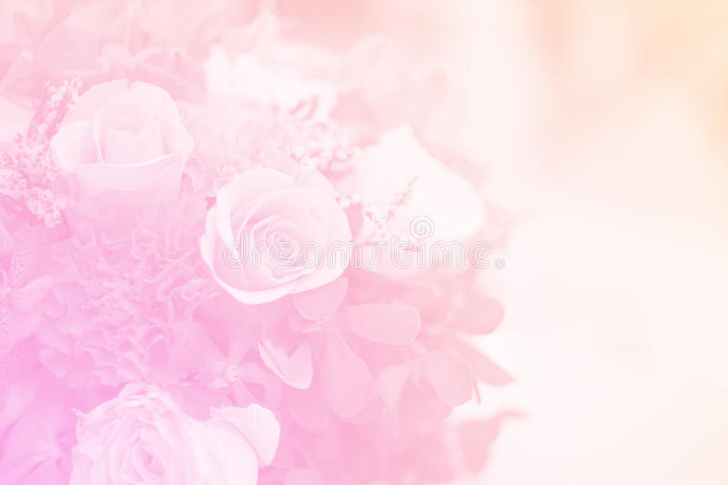 Bouquet in sweet soft colo. R , for background stock photography