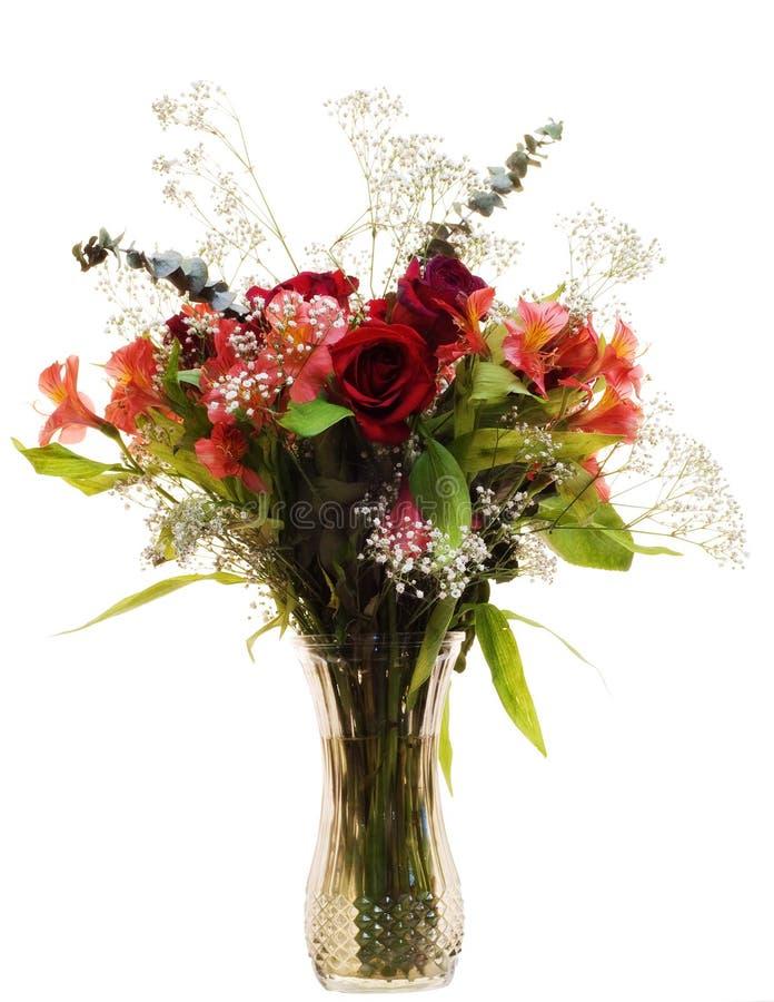 Bouquet vibrant de Rose photographie stock libre de droits