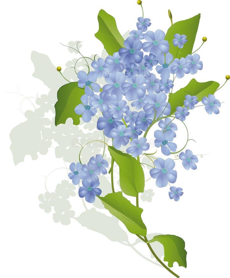 Bouquet Of Wild Flowers Stock Photos