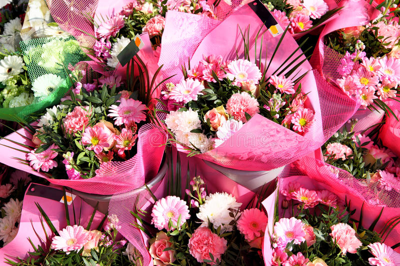 Bouquets images stock