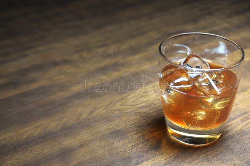 Bourbon nas rochas fotografia de stock royalty free