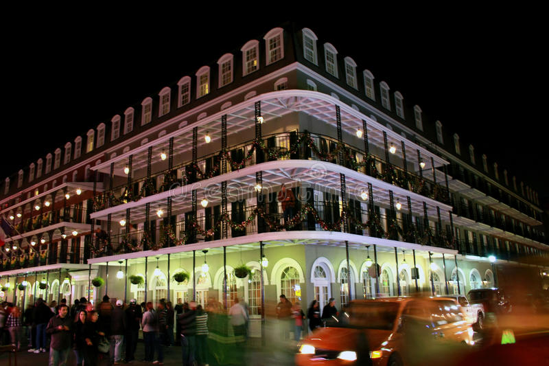 Download Bourbon Street, New Orleans At Night Editorial Stock Photo - Image: 18373598